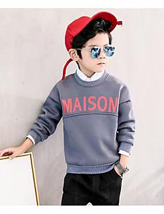 Genç Erkek Pamuklu Splandeks Solid Sonbahar Kış Bluz