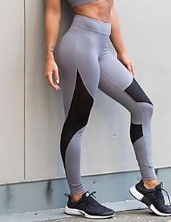 Women's Medium Stitching Solid Color Legging,Print