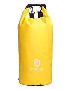 15 L 防水ドライバッグ 圧縮パック バックパック サイクリング ハイキング 登山 キャンピング トライアスロン 速乾性 シリコーン