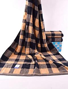 Frisse stijl Badhanddoek,Gestreept Superieure kwaliteit Polyester / Katoen Mix Handdoek