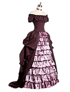 Victorian Rococo Female One-Piece/Dress Pink Cosplay Other Short Sleeves Cap Floor Length