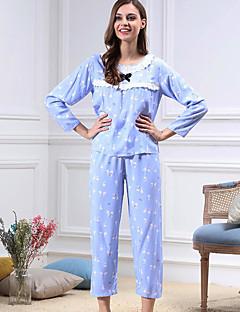女性 コットン パジャマ