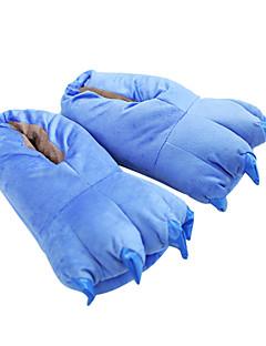 billige Kigurumi-Kigurumi-tøfler Blå Monster Monster Onesie-pysjamas Kostume polyester Bomull Blå Cosplay Til Pysjamas med dyremotiv Tegnefilm Halloween