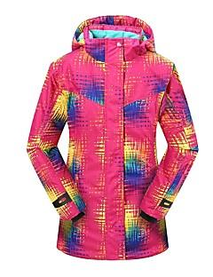billiga Skid- och snowboardkläder-Phibee Dam Skidjacka Varm, Vattentät, Vindtät Skidåkning Polyester Jacka Skidkläder