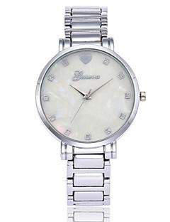 billige Luksus Ure-Herre Dame Quartz Armbåndsur Kinesisk Imiteret Diamant Metal Legering Bånd Luksus Afslappet Mode
