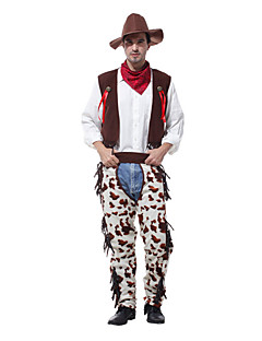 Klassiek en Tradtioneel Lolita Film/TV-themakostuums Klassiek & Tijdloos Mannelijk Cosplay Kostuums Gemaskerd Bal Outfits Cosplay Wit