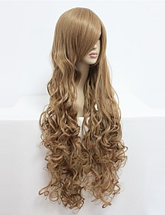 cheap Anime Cosplay-Cosplay Wigs Code Gease Nunnally V Britannia Anime Cosplay Wigs 90cm CM Heat Resistant Fiber Men's Women's