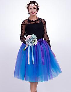 スリップスカートファッション結婚式の膝丈ナイロンchinlon結婚式のアクセサリー
