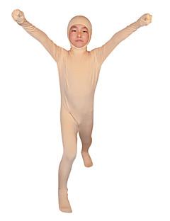 billige Barnekostymer-Ninja Zentai Drakter Barne Festival / høytid Halloween-kostymer Hud Farvet Ensfarget
