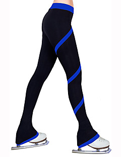 cheap Ice Skating Dresses , Pants & Jackets-Figure Skating Pants Women's / Girls' Ice Skating Tights / Bottoms Light Blue / Light Pink / Light Green High Elasticity Practise Skating