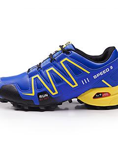 hesapli -Erkek Ayakkabı Tül Bahar Sonbahar Rahat Spor Ayakkabısı Yürüyüş Günlük için Siyah Gri Mavi