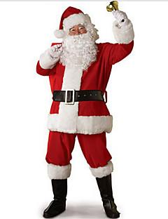 Santa Suits Cosplay Kostümleri Parti Kostümleri Erkek Cadılar Bayramı Yılbaşı Festival / Tatil Cadılar Bayramı Kostümleri Kırk Yama