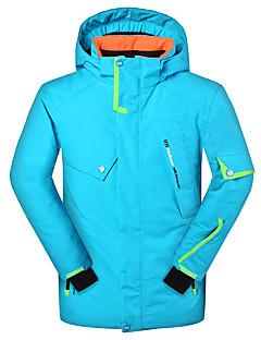 billiga Skid- och snowboardkläder-Phibee Pojkar Skidjacka Varm Torkar snabbt Vindtät Bärbar Mateial som andas UV-resistent Skidåkning Vintersport Snösport Skidor Snöskor