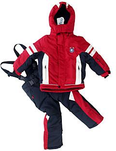 Phibee Kinderen Ski-jack & broek Warm waterdicht Winddicht Draagbaar Skiën Polyester