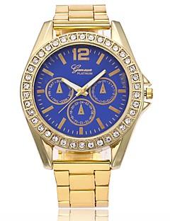 Homens Mulheres Relógio de Moda Relógio Elegante Relógio de Pulso Chinês Quartzo Metal Lega Banda Luxo