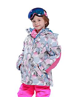 お買い得  スキーウェア-Phibee 子供用 スキージャケット ウォーム 防水 防風 耐久性 静電気防止 通気性 スキー ウィンタースポーツ クロスカントリー スノースポーツ ポリエステル