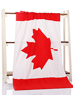 Frischer Stil Badehandtuch Set,Nationalflagge Gehobene Qualität Polyester / Baumwolle Handtuch