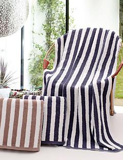 Frisse stijl Badhanddoek,Gestreept Superieure kwaliteit Puur Katoen Handdoek