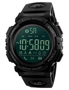 billige Digitalure-SKMEI Herre Digital Armbåndsur Sportsur Japansk Bluetooth Alarm Kalender Kronograf Vandafvisende Fjernbetjening Skridttællere Selvlysende