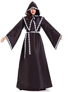 Skjelett / Kranium Grim Reaper Cosplay Kostumer Mann Kvinnelig Halloween Karneval Oktoberfest De dødes dag Festival / høytid