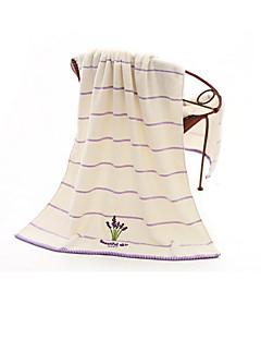 Frischer Stil Badehandtuch,Gestreift Gehobene Qualität Reine Baumwolle 100% Glatte Baumwolle Handtuch