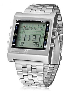 billige -Herre Klokkeesker Hverdagsklokke Moteklokke Selskapsklokke Armbåndsur Digital Watch Kinesisk Digital Kalender Kronograf Vannavvisende