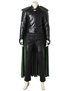Süper Kahramanlar Cosplay Cosplay Kostümleri Kostüm Film Kostümleri Gri & Siyah Yelek Top Pantalonlar Kolluk Eldivenler Pelerin Daha