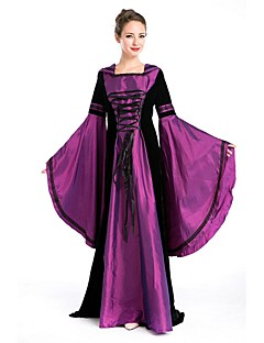 Klassiek en Tradtioneel Lolita Princes Elegant Geïnspireerd door vintage Vrouwelijk Badpak Jurken Cosplay Kostuums Feestkostuum Gemaskerd