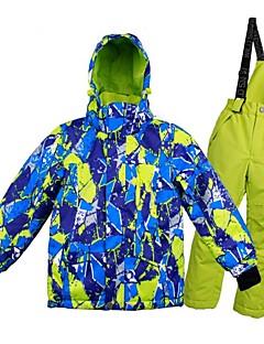 billiga Skid- och snowboardkläder-Pojkar / Flickor Skidjacka och -byxor Vindtät, Varm, Ventilerande Skidåkning / Multisport / Vintersport Polyester, Mesh Klädesset Skidkläder