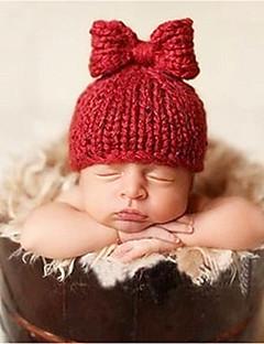 billige Tilbehør-Nyfødt Unisex Bomuld Hatte & Hætter