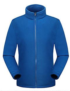tanie Odzież turystyczna-Męskie Bunda na turistiku Na wolnym powietrzu Zima zatrzymywania ciepła Oddychalność Kurtka zimowa Pojedyncze Slider Camping & Turystyka