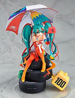 billige Anime cosplay-anime action figurer inspirert av vokaloid hatsune miku pvc cm modell leker dukke leketøy