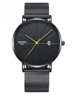 billige Modeure-Dame Quartz Armbåndsur Japansk Kalender / Kronograf / Vandafvisende / Afslappet Ur Rustfrit stål Bånd Luksus / Afslappet / Minimalistisk