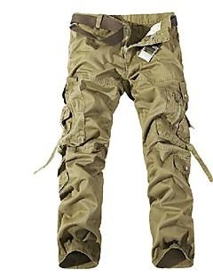 tanie Odzież turystyczna-Męskie Spodnie cargo turystyczne Na wolnym powietrzu Odporność na wiatr, Zdatny do noszenia, Sporty zimowe Zima Spodnie Multisport XL XXL XXXL / Elastyczny