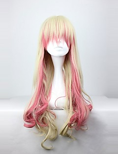 billiga Lolitaperuker-Cosplay Peruker Klassisk/Traditionell Lolita Prinsessa Lolita-peruker 70 CM Cosplay-peruker Färggradient Peruk Till