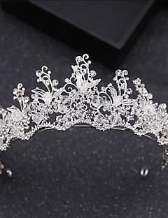 billige Trendy hårsmykker-Dame Grunnleggende Krystall Hårbånd - Klassisk Brud & Brudgom Stil