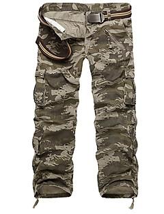 tanie Turystyczne spodnie i szorty-Męskie Spodnie cargo Na wolnym powietrzu Wiatroodporna Zdatny do noszenia Zima Spodnie Multisport