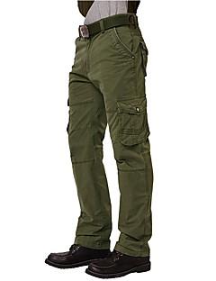 tanie Turystyczne spodnie i szorty-Męskie Spodnie cargo Na wolnym powietrzu Zdatny do noszenia Back country Cross Country Fitness Zima Spodnie Outdoor Exercise Multisport