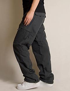 tanie Turystyczne spodnie i szorty-Męskie Spodnie cargo turystyczne Na wolnym powietrzu Odporność na wiatr, Zdatny do noszenia Zima Spodnie Multisport XL XXL XXXL / Elastyczny