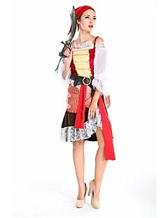 Schattig Princes Vrouwelijk Outfits Cosplay Rood Koude schouder Halve mouw Kort / Mini