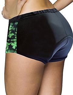 billige Sykkelklær-ILPALADINO Sykkelshorts Dame Sykkel Shorts Fôrede shorts Bunner Sykkelklær Fort Tørring Anatomisk design Anvendelig Reduserer gnaging