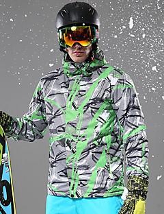 voordelige Ski & Snowboard-Heren Ski-jack Warm, waterdicht, Winddicht Skiën Winterjack Skikleding