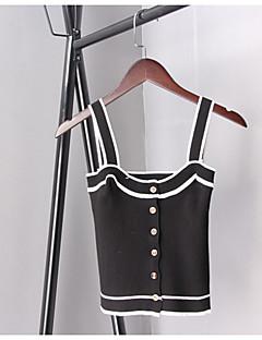 cheap Women's Sweaters-Women's Sleeveless Vest - Solid V Neck
