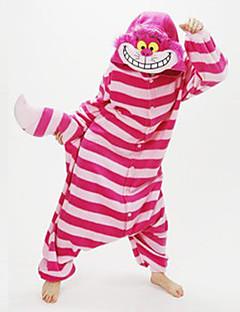 billige Kigurumi-Voksne Kigurumi-pysjamas Enhjørning / Pegasus Onesie-pysjamas Kostume Polar Fleece Blå / Gul+Blå / Hvit+Grå Cosplay Til Pysjamas med dyremotiv Tegnefilm Halloween Festival / høytid / Jul
