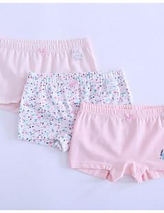 お買い得  女児 下着&ソックス-女の子 カートゥン コットン 下着 春 シンプル 伸縮性あり ピンク