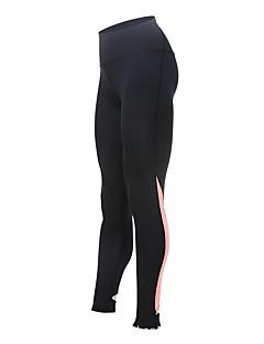 billige Løbetøj-Dame Løbetights Tights - Sport Løb Hurtigtørrende Orange, Lys pink, Grå Trykt mønster