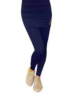 billiga Träning-, jogging- och yogakläder-Dam Tights för jogging - Svart, Grå, Mörk Marin sporter Enfärgad Byxa / Leggings Sportkläder Snabb tork, Mateial som andas