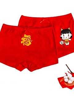 billige Undertøj og sokker til piger-Pige Undertøj Bomuld Alle årstider Rød