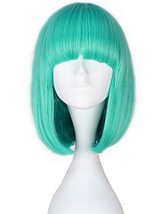 billiga Lolitamode-Lolita-peruker Lolita Blå Prinsess Lolita Lolita-peruker 35 CM Cosplay-peruker Ensfärgat Peruk Till