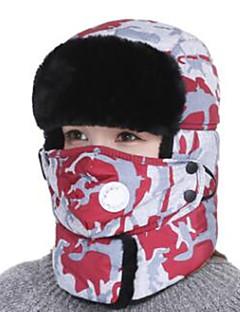 billiga Skid- och snowboardkläder-Skidor Skyddsmask mot Förorening / Skalle Mössa Unisex Varm Snowboard Bomull Kamouflage Skidåkning / Camping / Cykling / Cykel Höst /